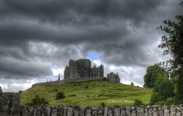 Erie Clouds over the Rock of Cashel