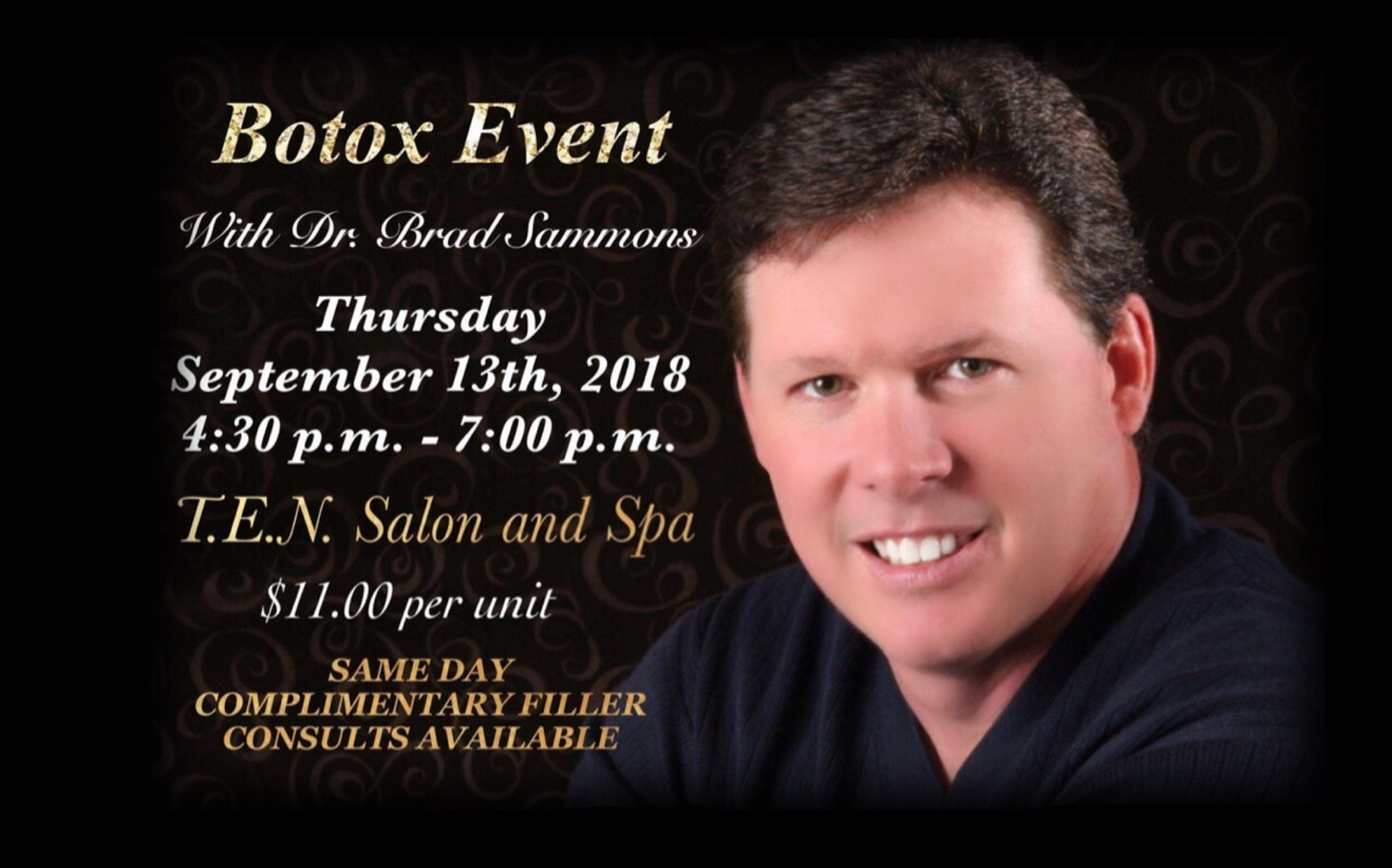 Botox with Dr. Sammons