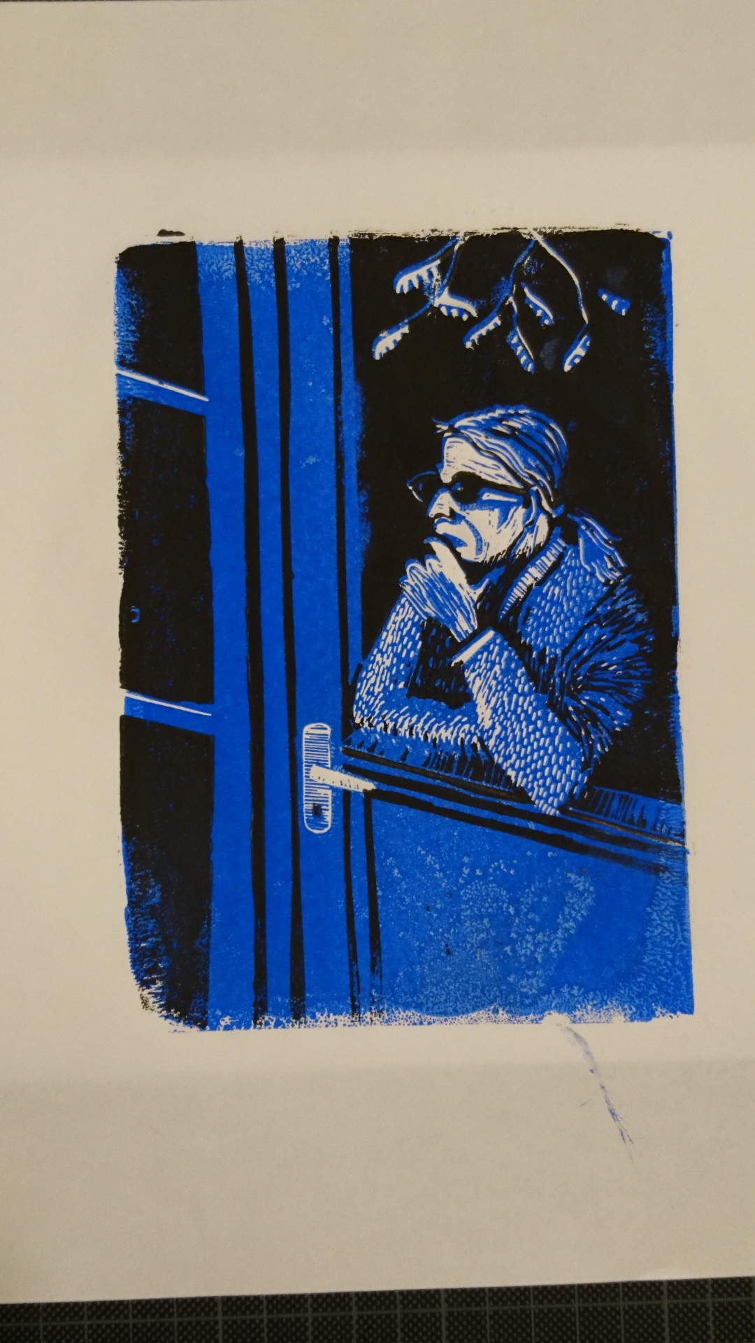 Christine (blue)