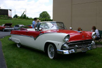 Ford Sunliner owned by Ron Lokay