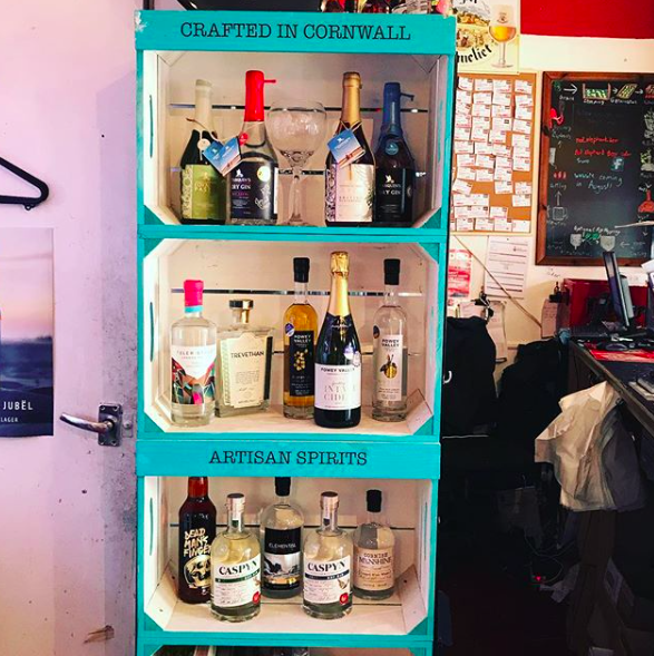 and just a few local gins too...