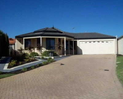 Enclosed garages and long driveways