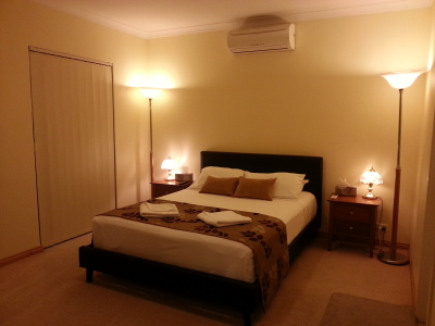 Large Bedrooms with hotel quality linen