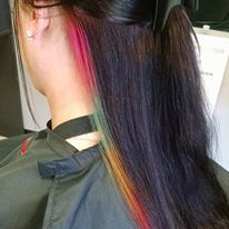 rainbow highlight