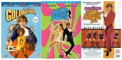 Austin Powers Trilogy SD