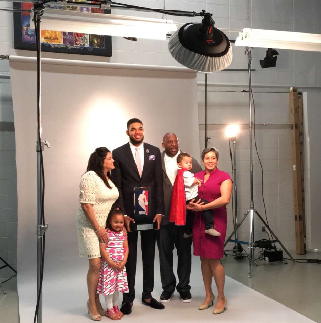 Karl Anthony Towns and Family