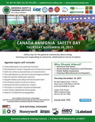 Ammonia Safety Day