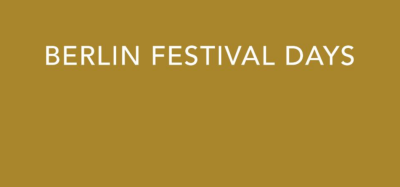 Berlin Festival Days - Email