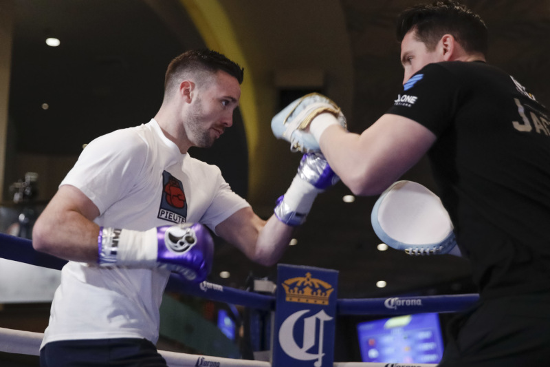 Josh Taylor, Shane McGuigan, Cyclone Promotions