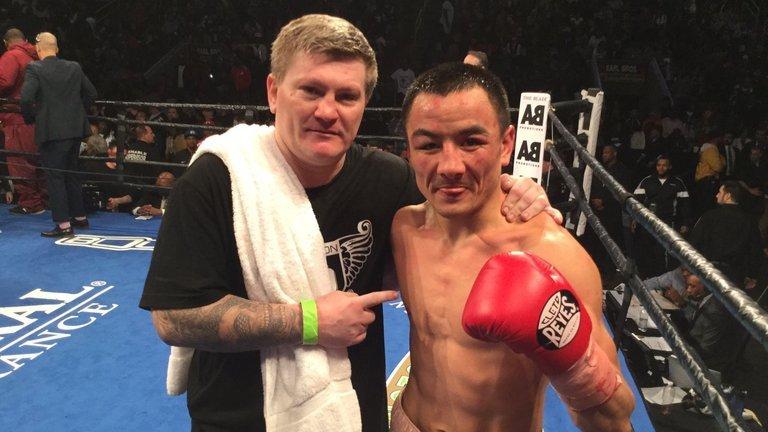Ricky Hatton, Zhanat Zhakiyanov, Raushee Warren, WBA