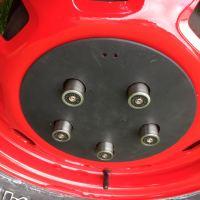 Custom Shot Gun Case Wheel Nut Covers VW Volkswagen T4 M-Teams A Team Van For Sale