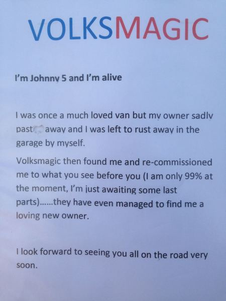 The Johnny 5 Story