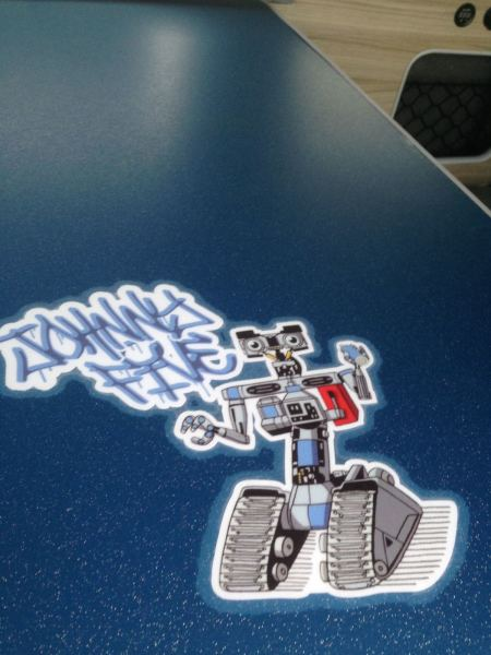 Johnny 5 Finishing Touches / New Adventures.