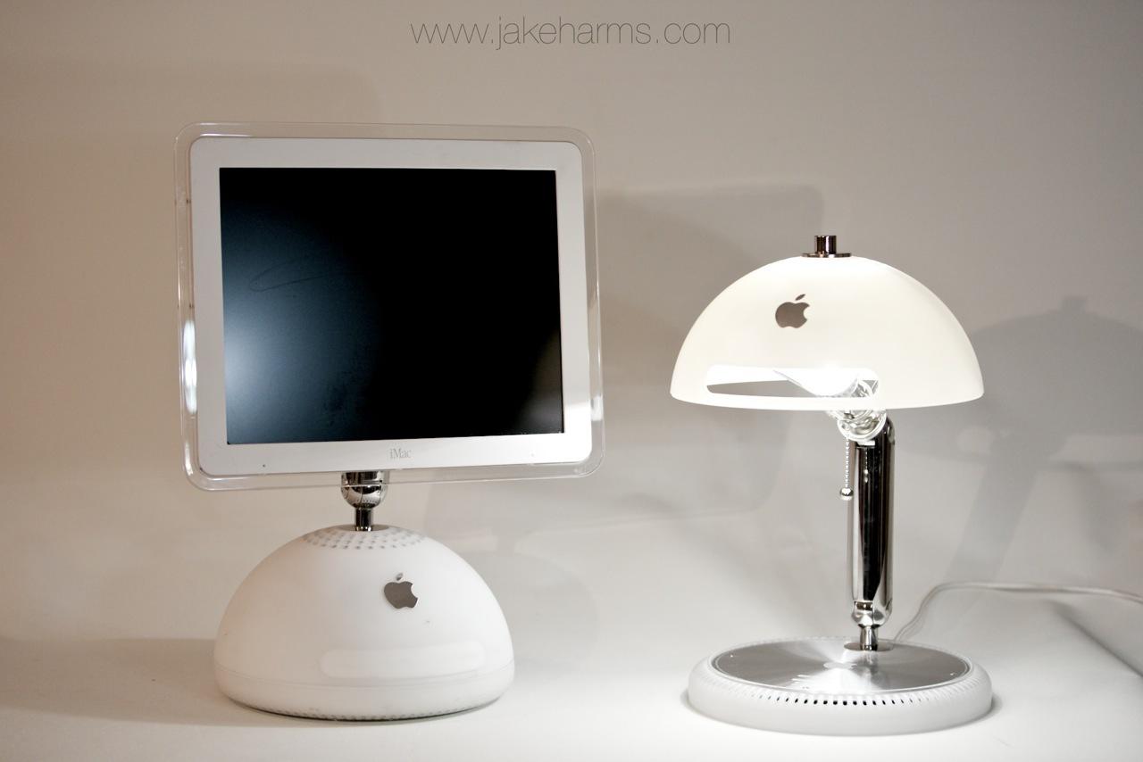G4 iMac into Lamp