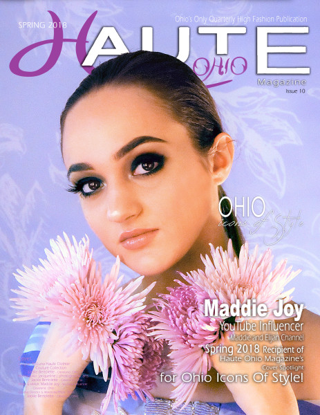 SPRING 2018 - Issue 10 - Ohio Icon Of Style - Maddie Joy - YouTube Influencer