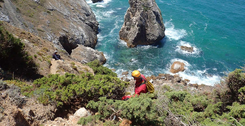 Prospeção na costa de Sintra