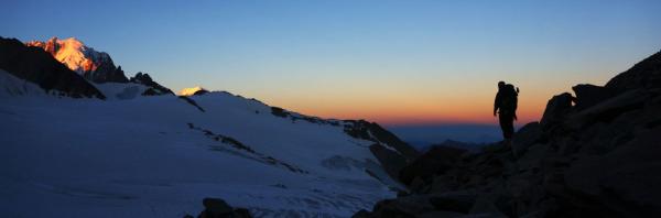 Fronteira Franco-Suíça Haute Route Chamonix-Zermatt 2013