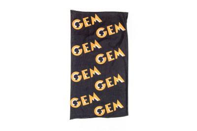 Buff preto com Logo GEM