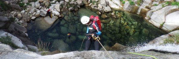 Canyoning na Serra da Freita