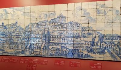 Caminhada com visita guiada ao Museu Nacional do Azulejo