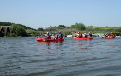 Canorafting no Guadiana