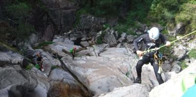 Canyoning no Rio Poio e Rio Ave para a Discovery Channel
