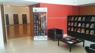 II Congresso de Fotografia Técnica em Gruta em exposição em Cascais