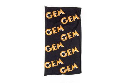 Buff preto com logotipo GEM: 8€
