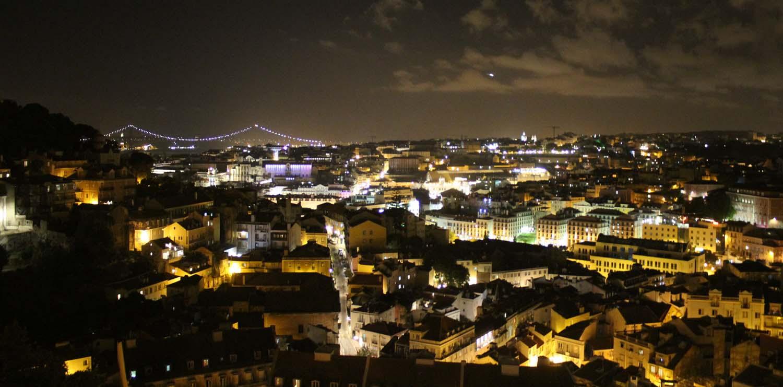 Caminhada Noturna pelos Miradouros de Lisboa