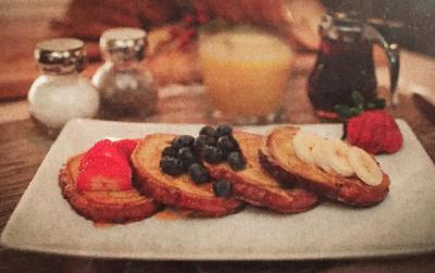 The Fresh Berry Homestyle Cinnamon Swirl French Toast
