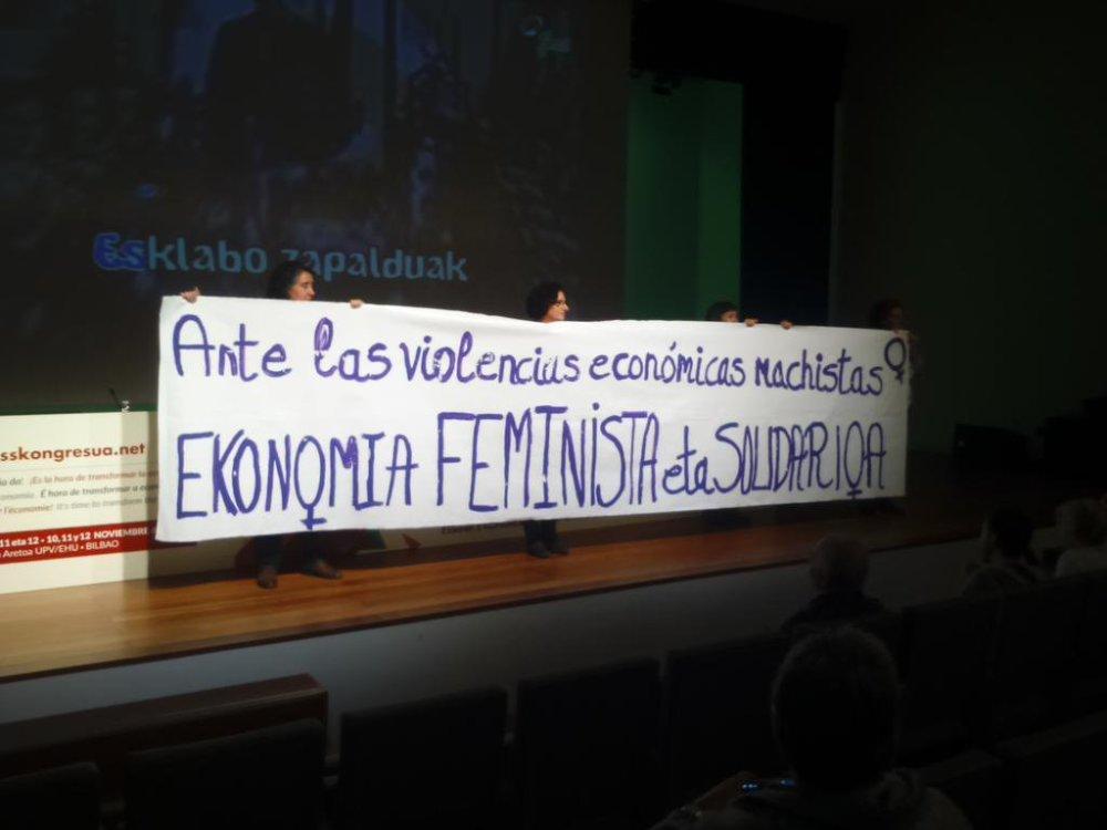 La economía será solidaria, si es feminista