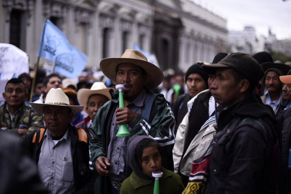 Lucha en Guatemala frente al avance de las multinacionales