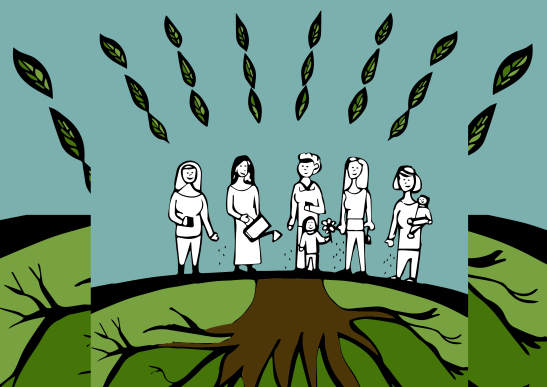 Las Mujeres en la Construcción de la Economía Solidaria y la Agroecología.