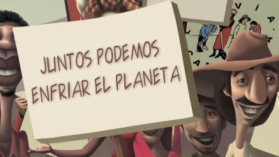 Historieta: Juntos podemos cuidar el planeta!
