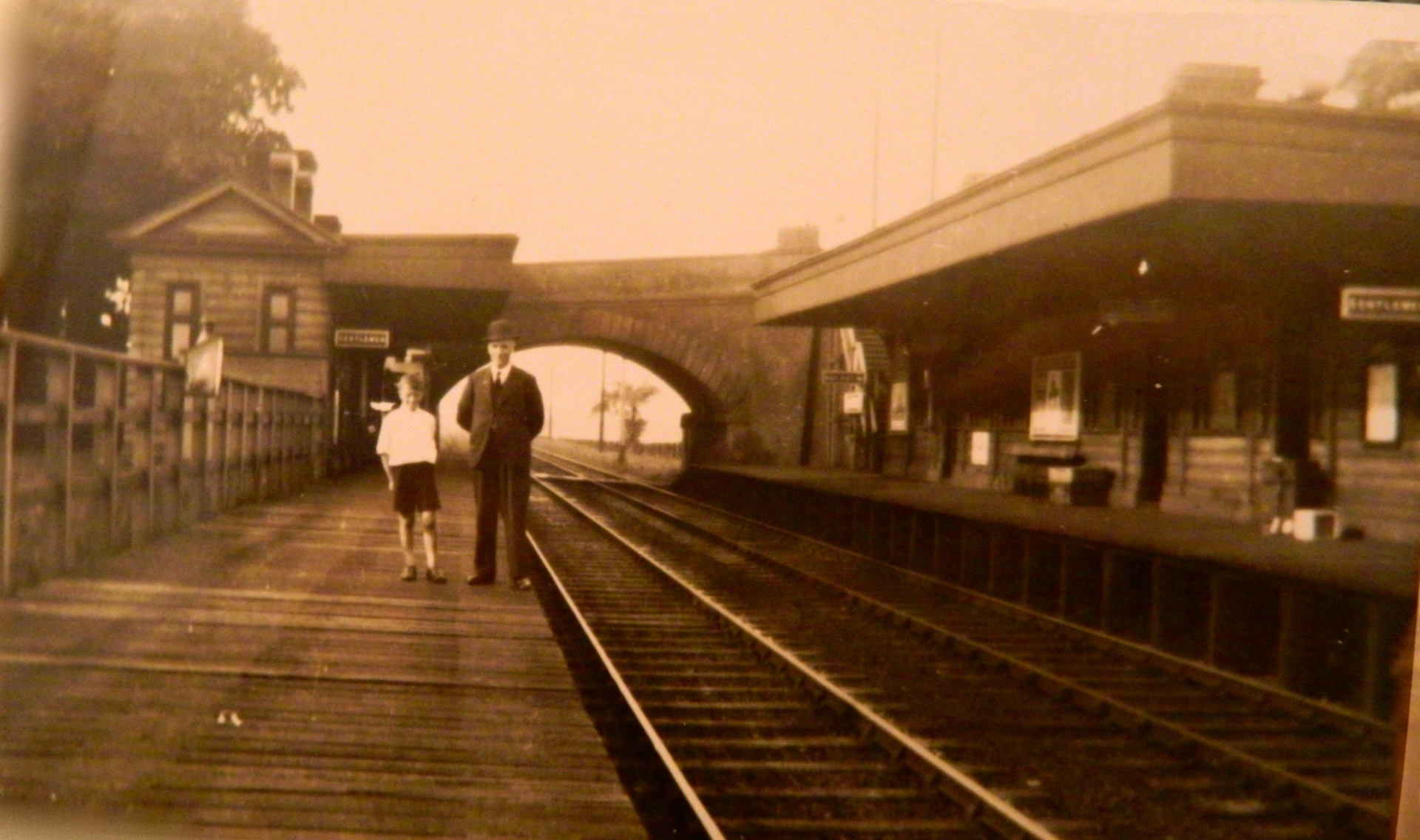 Goostrey Station, 1935