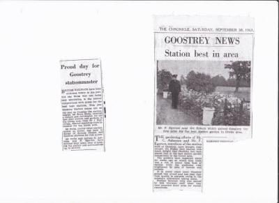 Goostrey Won!