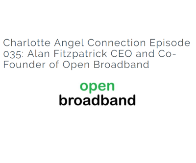 Podcast with Alan Fitzpatrick CEO and Co-Founder of Open Broadband