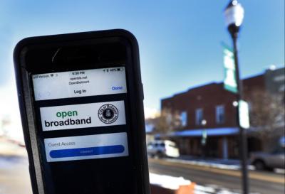 Launch of Free Public Wi-Fi Zone in Belmont NC