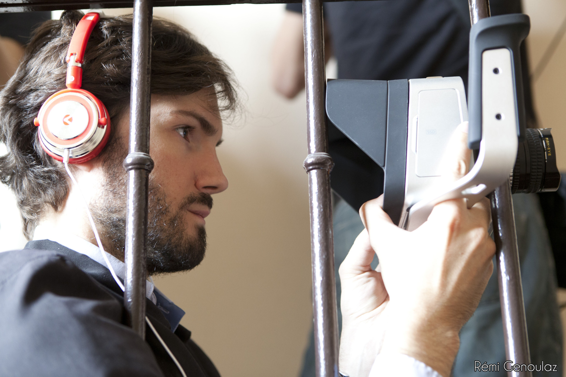 Matt operating B camera