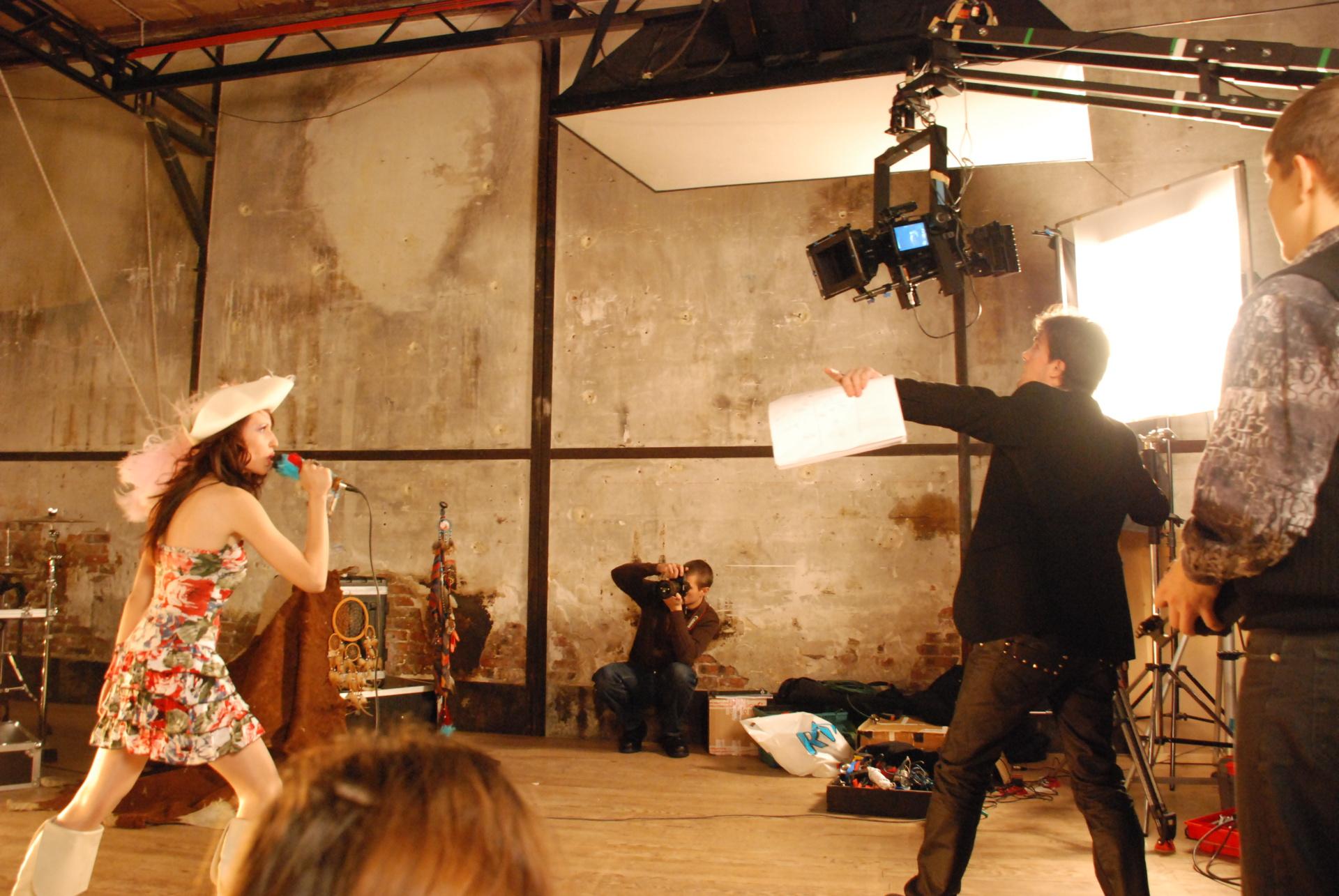 Matt Beurois directing 1798
