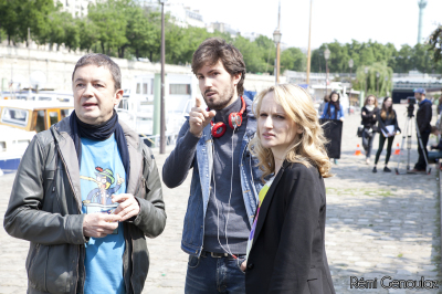 Frédéric Bouraly, Matt Beurois and Auregan