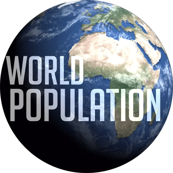 World population. Where are all the people?