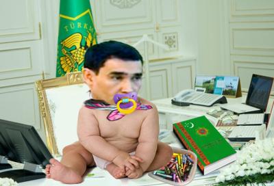 Отец и Cын Бердымухамедовы Олицетворяют Закон в Туркменистане