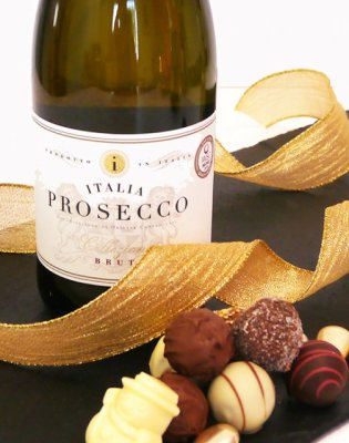 Prosecco and Chocolates