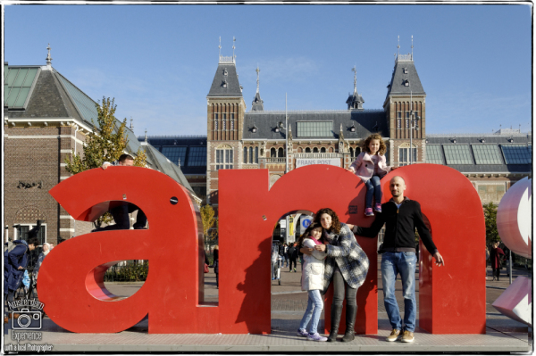 Fam. H-A in Amsterdam by Inbal Tur-Shalom