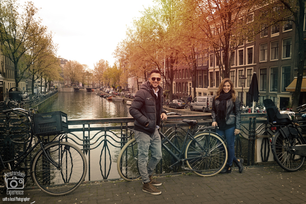 M&M in Amsterdam by Inbal Tur-Shalom