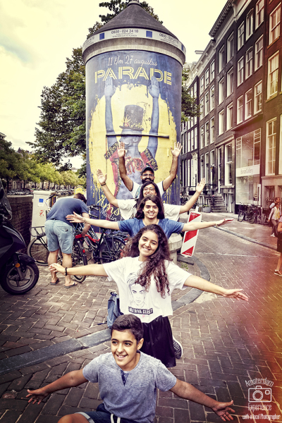 Fam. G in Amsterdam by Inbal Tur-Shalom