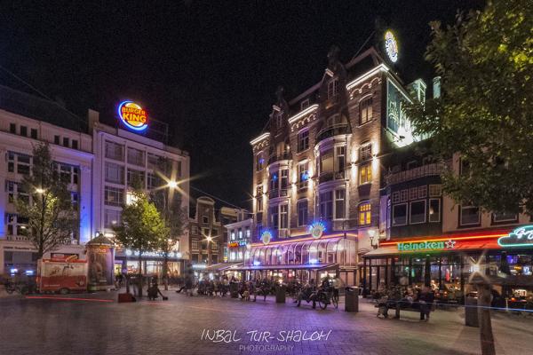 Leidseplein, Amsterdam at night