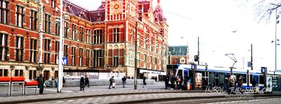 התחנה המרכזית סנטראל באמסטרדם