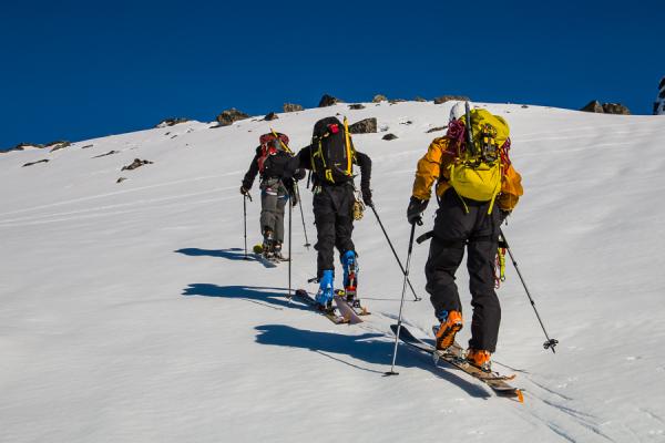 Ski  Mountaineering on Decker